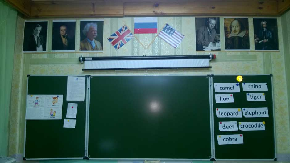 Как оформить кабинет английского языка своими руками фото